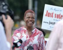 Audrey Gibson wins close vote to lead Senate Democrats