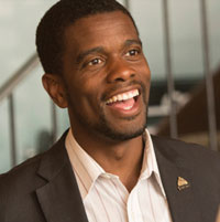 Melvin Carter was elected the first Black mayor of St. Paul, Minn., on Tuesday night, Nov. 7, 2017. (Screen-shot/MelvinCarter.org)