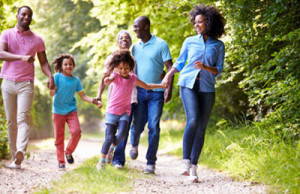 The Partnering4Health initiative aimed to improve health in family members of every age.             (Photo credit CDC)