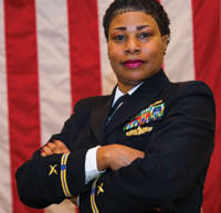 First Female African American CWO-5 in the Information Warfare Community