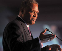 Rushern Baker, the county executive for Prince Georges County, Md., says that a Hunger-Games-like competition for vouchers and charter schools leaves parents and students fending for themselves.