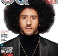 Colin Kaepernick Is GQ Magazine's 2017 'Citizen Of The Year'; Featured On Cover