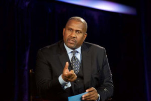 Tavis Smiley officiates Courting Justice: Little Rock, Arkansas at Central Arkansas Library on Sept. 23, 2016 in Little Rock, Arkansas.