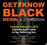"Black Owned Media Alliance announce the 3rd Annual ""Get to Know Black Media: A Symposium"""