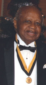 Attorney Raleigh Richard Rawls was a lifetime member of Alpha Phi Alpha Fraternity, Inc. and charter member of Zeta Alpha Lambda Chapter in Broward County, shown celebrating the 50th Year Anniversary of the local graduate chapter