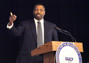 Derrick Johnson, NAACP president and CEO.