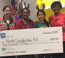 North Lauderdale Elementary receives a $500 Grief- Sensitive Grant