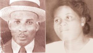 Bonnie Slater Thomas, Sr. and his wife Flossie Sweet Thomas