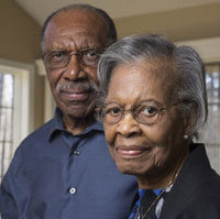 Gladys West and her husband