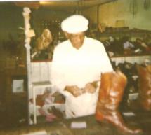 """Matthew """"Bud"""" Waters of Bud's Shoe Repair Shop in Fort Lauderdale, Fla."""