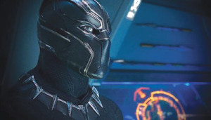 "Chadwick Boseman stars in ""Black Panther"".      (Marvel)"