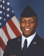 U.S. Air Force Airman Jalil Mack graduated from basic military training