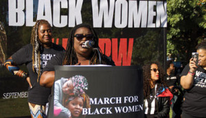 Monica Simpson, the executive director of SisterSong, says that the work of Black women will help us understand and combat Trump's agenda, with Black women leading the fight. (Monica Simpson/SisterSong)
