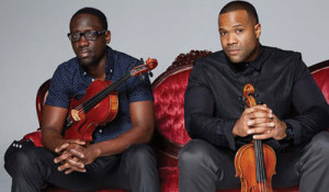 "Black Violin members, Kevin ""Kev Marcus"" and ""Wil B."""