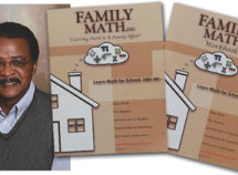 African American math tutor's books, Family Math LLC, helping families across the country learn math