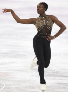 Mae Berenice Meite of France began her Olympic appearance