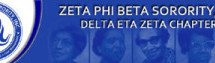 Delta Eta Zeta Chapter of Zeta Phi Beta Sorority, Inc. holds health seminar