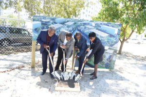 """Elected officials and residents celebrate open-air development at """"The Urban"""" Groundbreaking Ceremony in Overtown"""