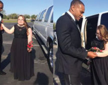 Former Miami Dolphins player takes Special Needs student to Prom