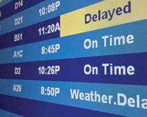 Flight Delays in April due to snow