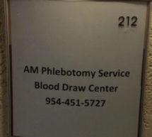 African American female entrepreneur opens phlebotomy wellness center
