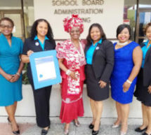 Dr. Dorothy Bendross-Mindinghall (D-2) honors the Haitian American Nurses Association of Florida, Inc.