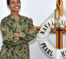 Fort Lauderdale sailor serves aboard Navy warship homeported in Pearl Harbor, Hawaii