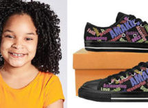 Ten-Year- Old Entrepreneur 'Bosses on Em' with her new footwear company