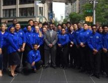 Congratulations are in order to Dillard High School of the Arts' Jazz Ensemble!