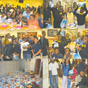 Thanksgiving is every day at Parkway Middle School - The