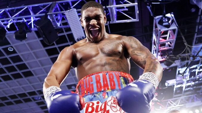 Jared Anderson will fight on the undercard of Saturday night's Deontay Wilder-Tyson Fury rematch. (Mikey Williams/Top Rank)